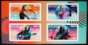 IRELAND 2021 IRISH SINGER/SONGWRITERS S/A BOOKLET. SINEAD O'CONNOR-HOZIER-MOORE