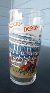 vintage 1979 Kentucky Derby Mint Julep Glass