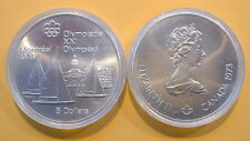 CANADA 1976 OLYMPIC $5 SILVER COIN *No 4**