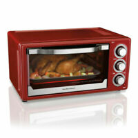 Hamilton Beach 6 Slice Toaster Convection/Broiler Oven Red Model# 31514 Electric