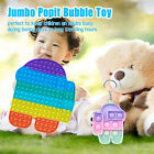 30CM Jumbo Sensory Fidget Toys Big Size Push Bubble Autism Stress Relief Game US