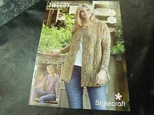 Stylecraft Double Knit Pattern 9426 Two Easy Knit Cable Designs 81/86 - 122/127