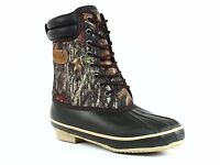 PRO LINE Mens HUNTING and SPORT Waterproof Insulated Brown Camo Boots