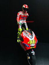 1:12 Conversión Minichamps Figure Figurine Valentino Rossi 2011 Valencia NEW