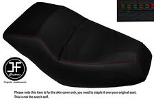RED DS STITCHING CUSTOM FITS HONDA HELIX CN 250 DUAL VINYL SEAT COVER ONLY
