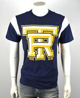 True Religion Men's TR Foodball Crew Tee Shirt Top - M4OB257EWK