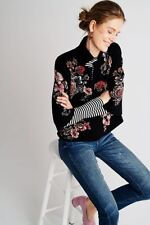 Anthropologie  Jacquard Floral Blazer NWT new size S