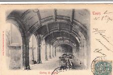 TOURS cloîtres saint-martin éd kunali timbrée 1904