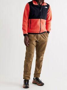 The North Face Mens Denali Fleece Black/Orange Size XXL Big & Tall BNWT