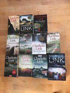 Charlotte Link Büchersammlung - 12 Bücher