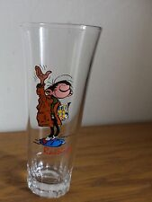 Gaston Lagaffe verre RAISINOR fin 60' rare TBE