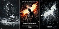 BATMAN THE DARK KNIGHT RISES - BANE - FINAL - LOGO - RARE Orig Movie Poster SET
