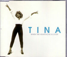 MAXI CD TINA TURNER WHEN THE HEARTACHE IS OVER 3 VERSIONS DE 1999