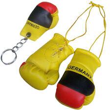 BANDIERA Germania MINI GUANTONI DA PUGILATO / MINIATURA GUANTONI DA PUGILATO & Key Chain