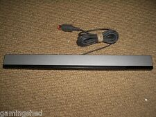 NINTENDO Wii & Wii U OFFICIAL GENUINE WIRED INFRARED SENSOR BAR ADAPTER RVL-014