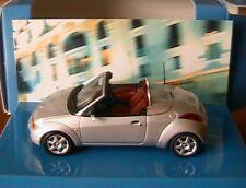 FORD STREETKA 2003 SILVER MINICHAMPS 1/43 CABRIOLET NEW ROADSTER STREET KA K