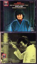 Seiji OZAWA BIZET Symphony in C Petite Suite Jeux d'Enfants Patrie 小澤征爾 Japan CD