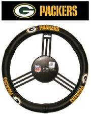 Green Bay Packers Leather Steering Wheel Cover [NEW] NFL Car Auto Truck CDG