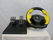Logitech Wingman Driving Formula GP E-UF5 USB PC Racing Wheel & Pedals Tested