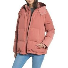 Madewelll Pink Quilted Down Puffer Parka Size XS