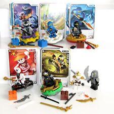 LEGO  Ninjago Masters of Spinjitzu Spinners MiniFigure Bundle & Arena