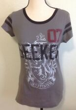 Harry Potter Gryffindor Shirt Sz L 11/12 Top Gray Tee 07 Movie T-Shirt
