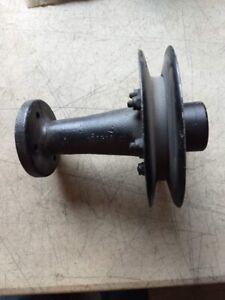 Triumph TR4, TR4A Original Crankshaft Fan Pulley, Hub, and Extension 128318