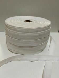 LOTUS ROMAN BLIND White Tape 26mm wide 5 Metre Length