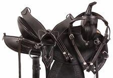 15 16 17 18 WESTERN PLEASURE TRAIL ENDURANCE HORSE LEATHER SADDLE TACK SET