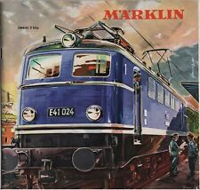CATALOGUE MARKLIN 1960/1961