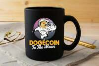 Dogecoin Doge To the Moon Crypto Meme Dogecoin Astronaut Coffee Mug, Tea Cup