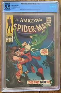 CBCS 8. VF+ RESTORED THE AMAZING SPIDER-MAN (MARVEL,1967) #49 SILVER AGE ~