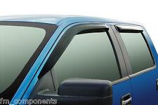 4xDeflectores de viento y lluvia para Range Rover Sport 2005-2012 derivabrisas