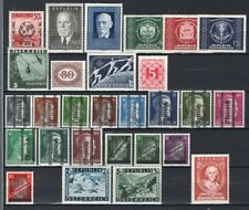 Austria 1945-55 Selection of Better Mint or Used 48 Stamps