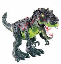 Light Up T-Rex Walking Dinosaur Kids LED Toy Figure Sounds Real Movement CoLOR V