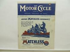 October 1946 THE MOTORCYCLE Magazine Matchless Clubman G3L G80 L8479