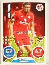 Match Attax 2016/17 Bundesliga - #237 Leon Balogun - 1. FSV Mainz 05