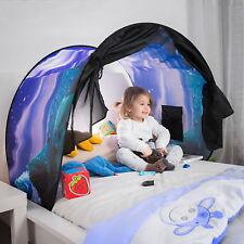 Kinderbett Zelt Zeltdach Tunnel Bettzelt Bogen Bettdach Kinderhaus Hausbett Baby