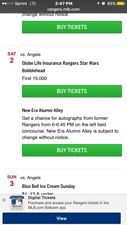 Texas Rangers Sga Star Wars Bobblehead Pre Sell 9/2