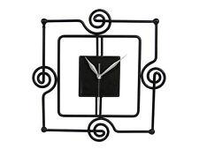 Country collection - Orologio da parete in ferro battuto quadrato