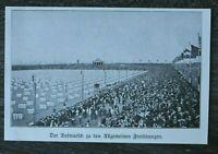 LPZ) Blatt 12. Deutsches Turnfest Leipzig 1913 Aufmarsch allg. Freiübungen Sport