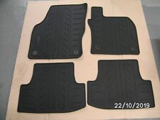 NEW GENUINE SEAT ATECA 2016 Onwards ALL MODELS 4pc RUBBER MAT SET 575061500A 041