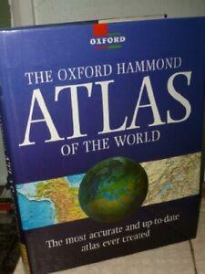 The Oxford-Hammond Atlas of the World by Hammond Inc Hardback Book The Cheap