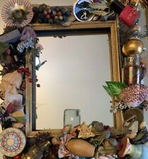 Mackenzie Childs Putty Odds And Ends Mirror