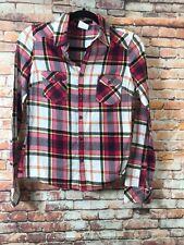 Junior Women's Folia Plaid Shirt Size Small