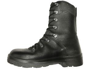 German Army Para Boots Genuine Military Surplus Combat Leather Black *Grade 1*