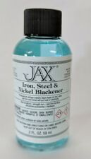 Jax Black Blackener Patina for Iron, Steel & Nickel - 2 oz.