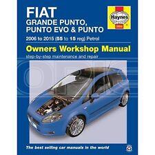Haynes Fiat Punto Petrol Manual 2006-2015 - Car Manual (5956A)