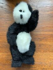 "1993 Ty Attic Treasure ""CHECKERS"" The Panda Bear Plush 9"" Tall"