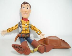 WOW! Disney Toy Story 3 Film Plush Cowboy Woody 40cmH Talking Doll toy (90% new)
